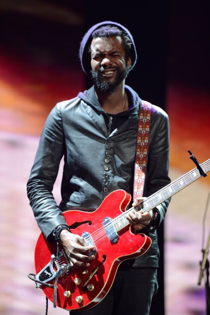 NEW YORK, NY - APRIL 12:  Gary Clark Jr. performs on stage during the 2013  Crossroads Guitar Festival at Madison Square Garden on April 12, 2013 in New York City.  (Photo by Kevin Mazur/WireImage) *** Local Caption *** Gary Clark Jr.