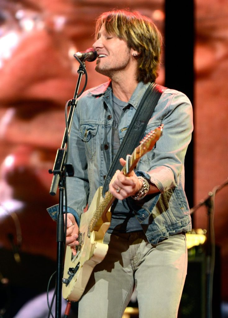 NEW YORK, NY - APRIL 13:  Keith Urban performs on stage during the 2013  Crossroads Guitar Festival at Madison Square Garden on April 13, 2013 in New York City.  (Photo by Kevin Mazur/WireImage) *** Local Caption *** Keith Urban